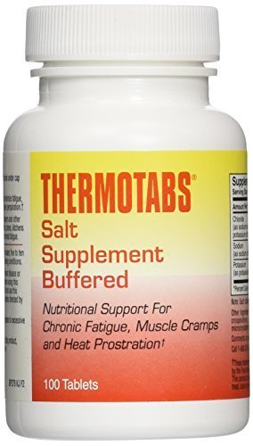 Thermotabs Buffered - Thermotabs Salt Supplement Buffered - 100 Tablets (Pack of 3) by Thermotabs