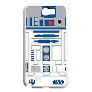 Top Design Star Wars Series Samsung Galaxy Note 2 Case R2D2 Robot Samsung Galaxy Note 2 N7100 Faceplate Hard Cell Protector Housing Case by mcsharks