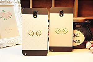Galaxy Note3 Case,Cutie Angel's Wings Protective Back Case Cover for Samsung Galaxy Note3 , 2 pieces Kimberly Kurzendoerfer