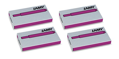 Pink Cartridge - Lamy T10 Vibrant Pink, Limited 2018 Edition | 4 Pack (20 cartridges)