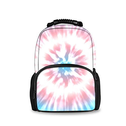 JACINTAN Transgender Color tie dye Big Capacity Backpacks College Students School Bookbag