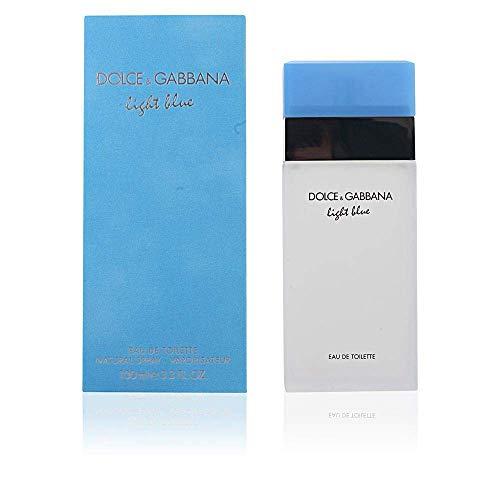 Dolce & Gabbana Women's Eau De Toilette Spray, Light Blue, 3.3 Fl. Oz (Pack of 1)