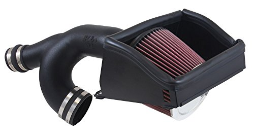K&N Performance Cold Air Intake Kit 63-2592 with Lifetime Filter for Ford F150 3.5L Turbo (K&n 63 Series Aircharger Intake)