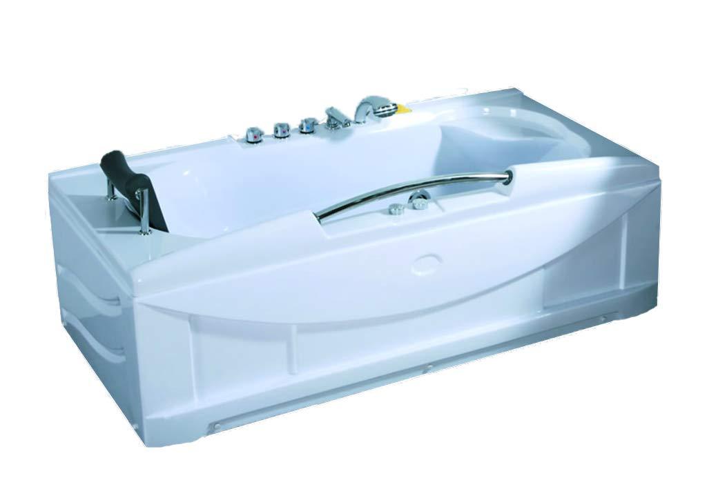 1 Person Jacuzzi Whirlpool Massage Hydrotherapy Bathtub Tub Indoor ...