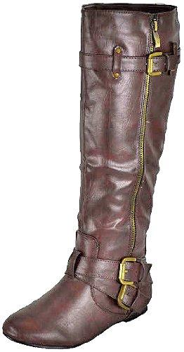 Bonnibel Bianca-05 Bruine Dames Casual Laarzen, 5,5 M Ons