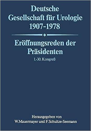 Deutsche Gesellschaft für Urologie 1907-1978