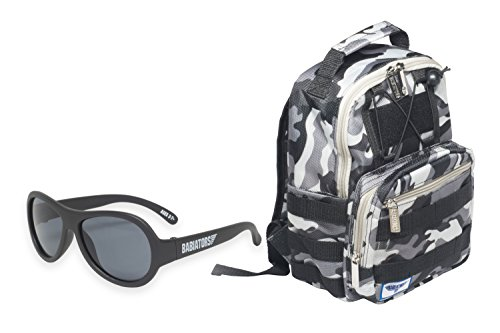 Babiators Gift Set - Black Ops Original Sunglasses  and Gala