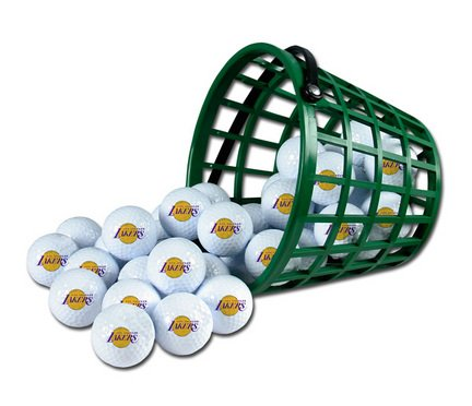 Wincraft NBA Los Angeles Lakers Bucket of 36 Golf Balls