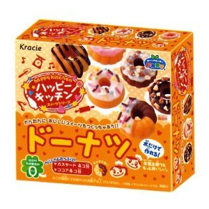 Kracie Japanese DIY Happy Kitchen Donuts Gummy Candy Making Kit