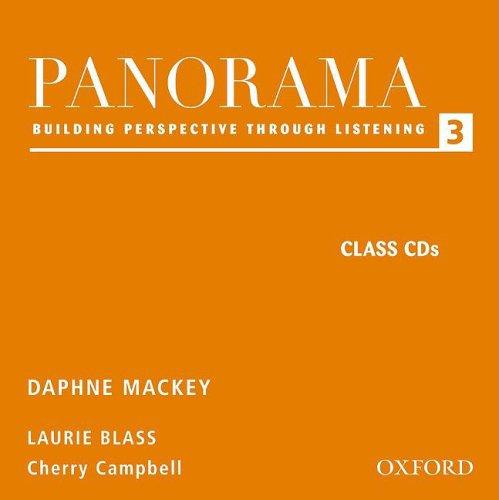 Panorama Listening 3 Audio CDs: Building Perspective Through Listening