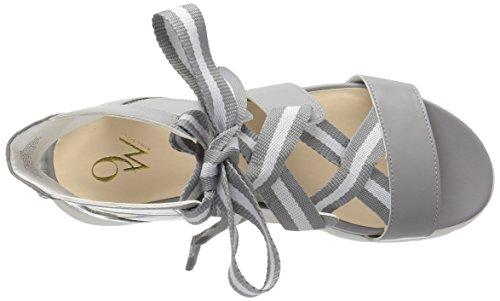 Sandalo Sintetico Veedah Delle Nove Donne Dellovest Grigio