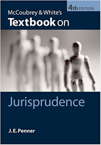 Book McCoubrey & White's Textbook on Jurisprudence by James Penner (2008-08-14)