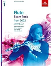 Flute Exam Pack from 2022, ABRSM Grade 1: Selected from the syllabus from 2022. Score & Part, Audio Downloads, Scales & Sight-Reading