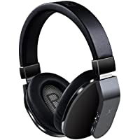 Riwbox XBT-780 Bluetooth Headphones Over Ear, Noise Cancelling V4.1 Wireless Headset with Volum Control, w/Built-in Mic and Wired Mode for PC/ Cell Phones/ TV (Black)
