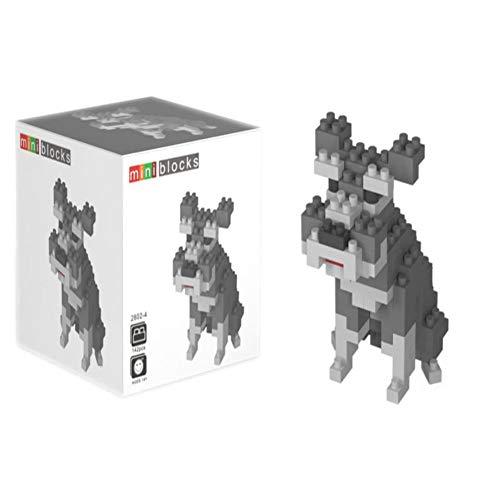 (MAGIC-F Wisehawk Nano Blocks Kawaii Animal Mini Sheep Tiger Dog Bird 3D DIY Model DIY Plastic Building Bricks Juguetes Toys for Kids. )