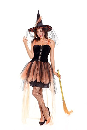 Halloween Costume Daviden Q Sexy Hot Adult Werid Witch Fancy Ball Model Cosplay Club