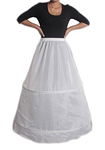 XYX Enaguas de la boda bridal dress crinoline petticoat vestido de novia wedding dress miriñaque underskirt 2-HOOP