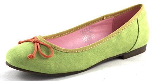 Jane Klain Damen Ballerinas Flats 221 716 grün