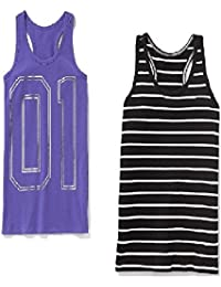 Summer Sale Fitted Racerback Tanks Set for Girls-2 Included Small Size and!