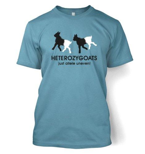 Heterozygoats Just Allele Uneven – Science Geek T-Shirt