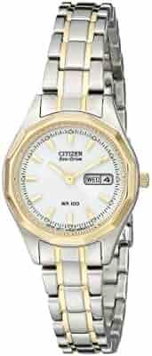 Citizen Women's EW3144-51A Eco-Drive Sport Two-Tone Watch