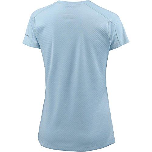 Columbia Funktionsshirt Kurzarm Zero Rules Short Sleeve - Camiseta azul claro
