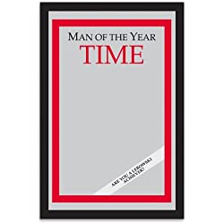 """Man of the Year Time Magazine Mirror from The Big Lebowski (9""""x13"""")"""