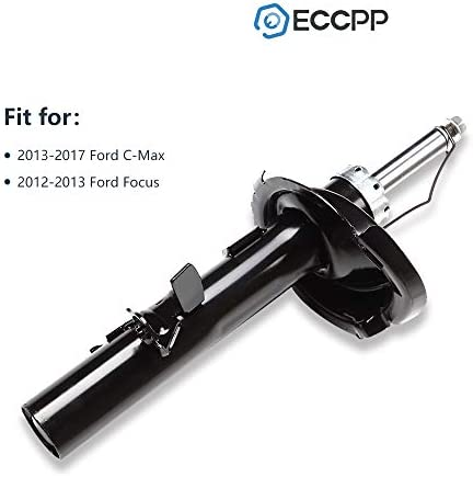 Amazon Com Shocks And Struts Eccpp Front Pair Struts Shocks Absorber Fit For 2012 2013 Ford Focus Compatible With 72522 72523 Automotive