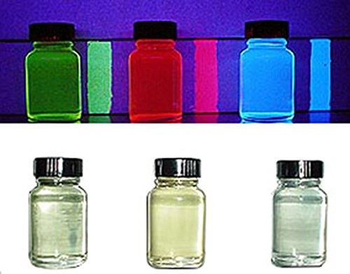 Invisible Transparent UV Reactive Blacklight Paint - Blue ()