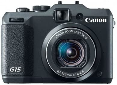 Canon Powershot G15 - Cámara compacta de 12.1 MP (Pantalla táctil ...