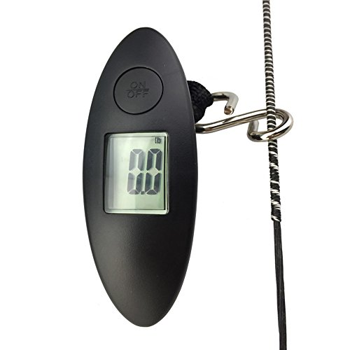 Portable 88lbs American Weigh Archery Bow Scale Digital Hanging Scale With LCD Display For Recurve Bow Compound Bow Measure