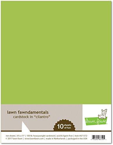 Lawn Fawn LF1372 Cilantro カードストック
