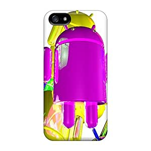 Hot Mi Android First Grade Tpu Phone Case For Iphone 5/5s Case Cover