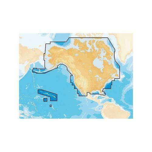 Navionics+ Preloaded Chart Of All Usa/Canada -Marine & Lakes- Microsd