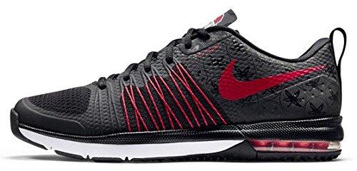 Blk Amp (Nike Air Max Effort Tr Amp 705367 061 Blk/unvrsty Rd-white Hypr Crms Size 10)