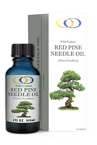 Optimally Organic Korean Red Pine Needle Oil - Powerful Immune System Booster - Anti Aging Properties - Wild Crafted, Non GMO - Pure, Bioactive, Vegan Beauty Treatment - 2 oz.