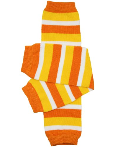 Boy Candy Corn Costume (Halloween baby & toddler Leg Warmers for Girls & Boys in various styles (One Size (12 pounds to 10 years), Candy Corn))