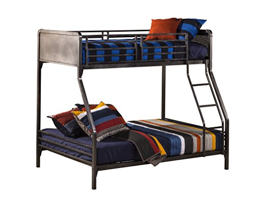 Hillsdale Furniture 1265BBF Kids and Teen Twin/Full Bunk Bed