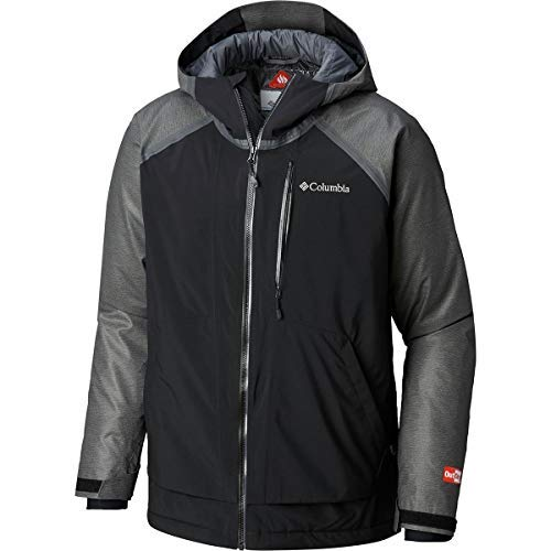 (Columbia Men's Outdry¿ Glacial Hybrid Jacket Charcoal Heather/Black/Graphite)