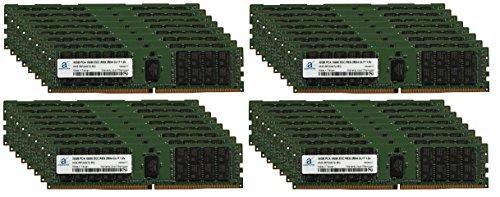 Adamanta 1TB (32x32GB) Server Server Memory Upgrade for Cisco UCS B420 M4 Blade Server DDR4 2400MHZ PC4-19200 ECC Registered Chip 2Rx4 CL17 1.2V (64 Chip 8 X Ecc)