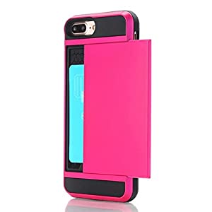 iPhone 6 Case,Berry Impact Resistant Hybrid iPhone 6s Wallet Case Shell Shockproof Rugged Rubber Bumper Anti-Scratch Hard Cover Skin Card Holder for iPhone 6 / iPhone 6s 2015