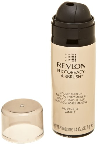 REVLON Photoready Airbrush Mousse Makeup, Vanilla, 1.4 Ounce