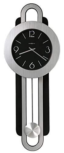 Silver Tone Pendulum - Howard Miller 625-340 Gwyneth Wall Clock
