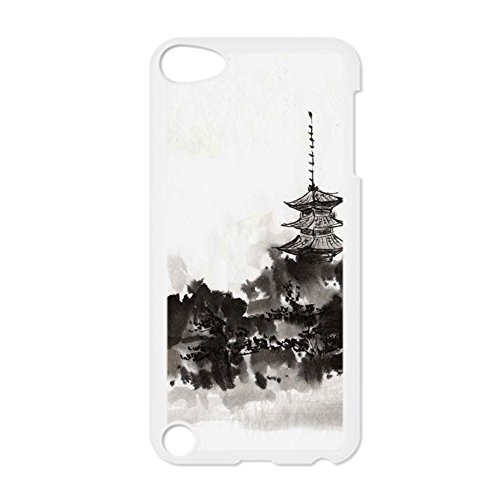 Tyboo Phone Shells For Touch5 Ipod Abs Printing Asian Chinese Ink Painting Shatterproof For Boy