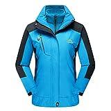 CRYSULLY Women's Winter Mountain 3-in-1 Windbreaker Jackets...