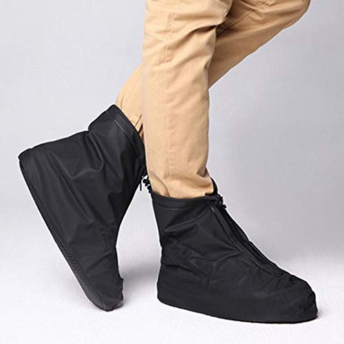 Antideslizante Resistente al Desgaste Bellaven Color Negro 1 Funda para Zapatos de Lluvia Gruesa