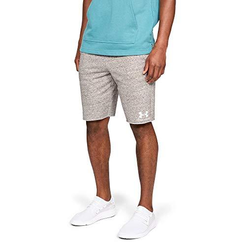 Under Armour Sportstyle Terry Shorts, Onyx White//Onyx White, Medium