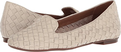 - French Sole Women's Admire Bone Woven Leather 8 M US