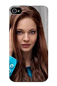 Creatingyourself High Quality Shock Absorbing Case For Iphone 4/4s-city Girl