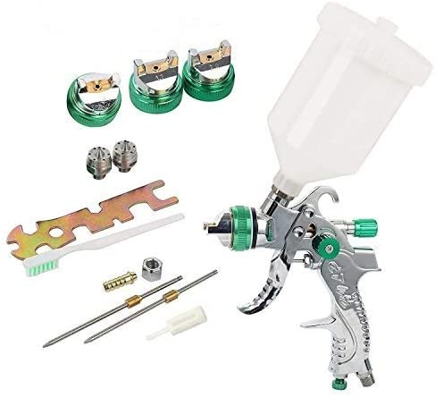 YaeTek HVLP Gravity Feed Spray Gun